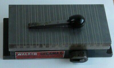 Walker Ceramax Permanent Magnet Chuck 4 X 8 Lath Milling Grinding Drill Press
