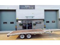 PRG Car Trailer Lodeck Beavertail 12 x 6 Bed Size 2000kg Gross Weight