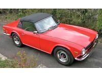 Excellent Condition - 1973 Triumph TR6