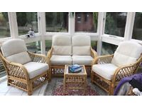 Conservatory Furniture Cane & Cream
