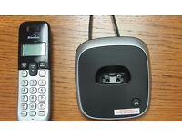 Cordless landline telephone one handset