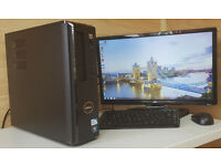 PC Desktop Tower Dell Vostro 230 Intel E6500 2.95Ghz 4GB DDR3 250GB HDD Win 7 Tower Only