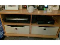 Tv unit and tables