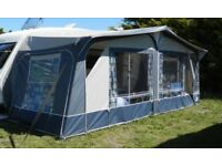 Doreema Caravan Awning to fit size 16 (10.48m rail) Very good condition