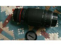 Canon eos, ef fit. Sigma apo 75-300mm