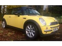 """2004 MINI COOPER 1.6 12 MONTHS MOT WITH NEW 17"""" TYRES / BATTERY & SUSPENSION - ELECTRIC SUNROOF"""