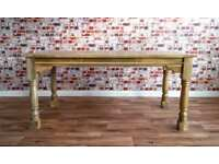 Extending Rustic Farmhouse Dining Table - Seats up to Twelve