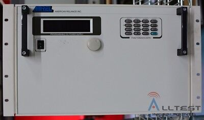Amrel Sps250-100 Dc Power Supply 250 Volts 100 Amps 25kw