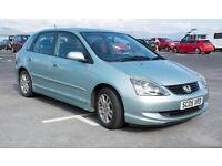 Honda Civic 2005, 1,6 vtec, full service history, very good reliable car with many new parts