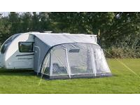 Sunncamp Swift 390 Air Caravan Porch Awning with Free Groundsheet - Used Once - Delivery Available