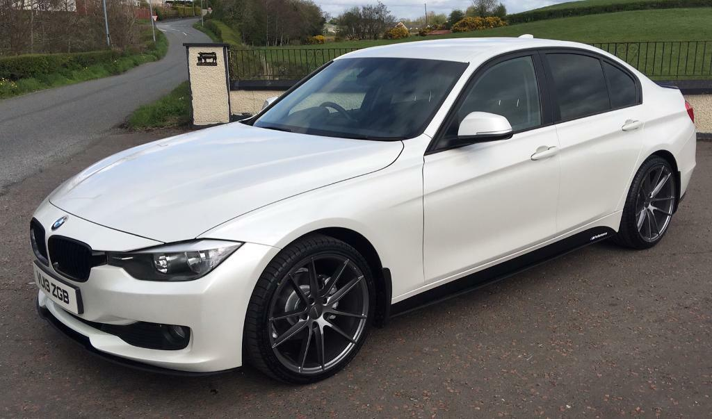 Bmw Dealers In Md >> 2013 BMW 3 series F30. Mineral White. M Performance Kit ...