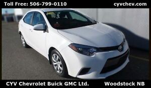 2015 Toyota Corolla LE Auto - Rear Camera - $50/Week