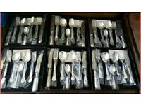 EPNS silver plated cutlery set, 42 pieces, unused
