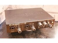 M-AUDIO PROFIRE 610, 6 IN / 10 OUT FIREWIRE AUDIO INTERFACE