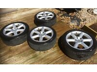 NISSAN 350z GT Touring Wheels and tyres x4