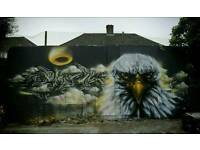 Graffiti artist for workshops ,bedrooms and more,get in touch for a free quote!