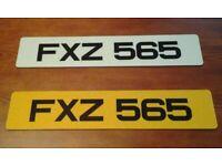 FXZ 565 - Cherished Registration Number (Dateless 3x3 NI Registration Number)