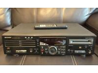 Sharp MD/CD Deck MD-R3H Player