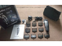 BaByliss for Men Super Clipper - Cordless - Guards 1-8, Brush & Oil included - Used once briefly