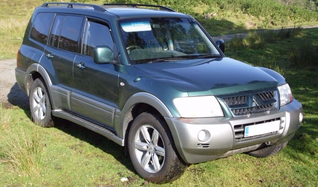 2003 Mitsubishi Shogun 3.2 DiD Elegance 7 Seats MOT July 2018