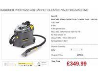 KARCHER PRO PUZZI 400 CARPET CLEANER VALETING MACHINE
