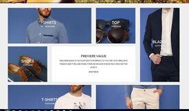 Trendy Clothes Web Shop for Sale