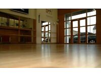 Calling all dance, yoga and movement instructors - superb double-height studio for hire