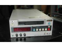 Sony DSR-40p cassette recorder