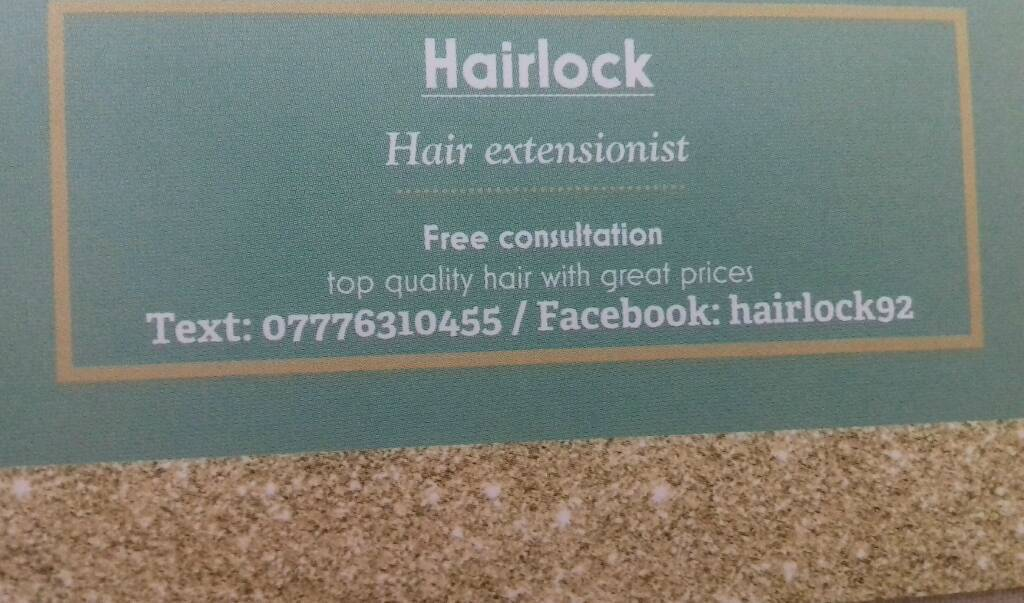 Hair extensions by hairlock