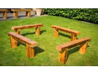 Reclaimed pine benches (3 left)