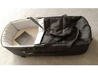 Mamas & Papas Luna Soft Carrycot Moses - nearly new