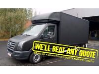 MAN AND VAN, MOVING AND REMOVAL SERVICE - ALL OF LONDON - 24/7 - WE BEAT ANY QUOTE