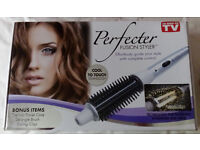Perfecter Fusion Hair Styler with extras