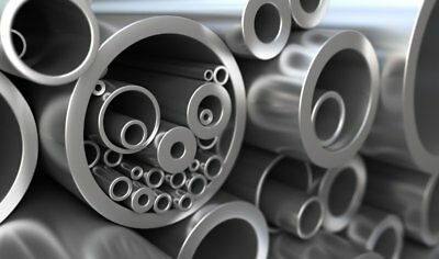 Mild Steel Precision Round Tube Pipe Many sizes lengths Metal Bar Rod Strip 1 (Mild Steel Tubing)