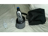 Braun Series 3 390cc-3 Electric Rechargeable Male Foil Shaver with Clean and Renew Charger