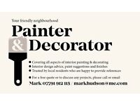 Your friendly neighbourhood painter & decorator