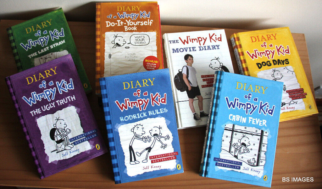Diary of a wimpy kid book set 9 books in prestwick south diary of a wimpy kid book set 9 books solutioingenieria Image collections