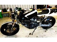 cafe racer Ducati 900 monster swap part/ex