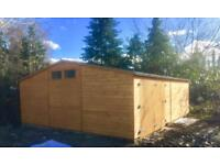 Yard space and storage unit to rent
