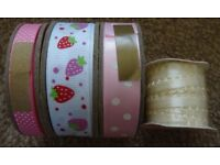 New Ribbon Packs Only £1 each art and craft scrapbooking Card Making embellishments xmas gift