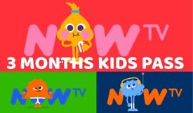 Now TV Three Month Tv Kids Pass