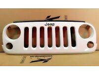 JEEP Wrangler JK Original Front Grille Brilliant White