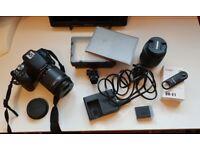 Canon 200D (SL2) SLR Camera + Light, Lens Kit, Bag, Remote & More!