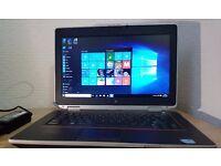 """High Spec Dell Intel Core i5-2520 Laptop,4GB RAM,320Gb hdd,14"""" Led Display,Windows 10 Pro 64 Bit"""