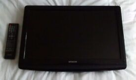 21 INCH HITACHI TV WITH BUILT IN DVD PLAYER