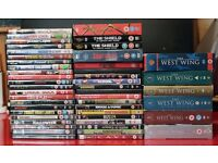 Massive DVD Job Lot - 10 x Box Sets and 37 individual DVDs - Almost all in excellent condition