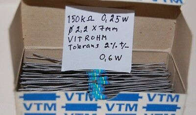 7K5 Ohm 0.6w Metal Film Resistor 1/% 7.5K UK Seller