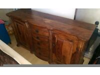 Beautiful indian wood sideboard