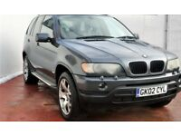 BMW X5 3.0 XDRIVE 2002 115K AUTO CLEAN FULL BMW SERVICE HISTORY