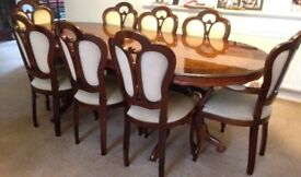 Dining Table: 8 seats - excellent condition (Price can be negotiated )